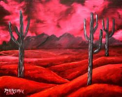 southwestern abstract desert by derekmccrea