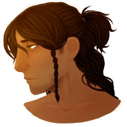 Raam Profile Painting by rebel467