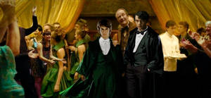 Harry Potter and Tom Riddle at Slughorn Party