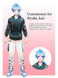 Commission for @yuka_kaii 3