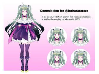 Commission for @/indrarararara