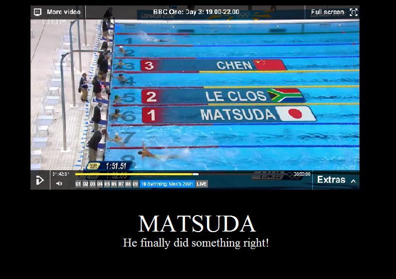 He won! by wafflebaconkeeper