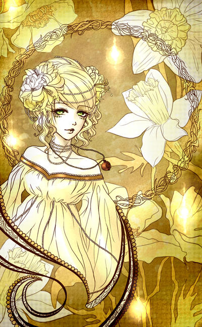 Mythology design - Persephone Picture, Mythology design ...