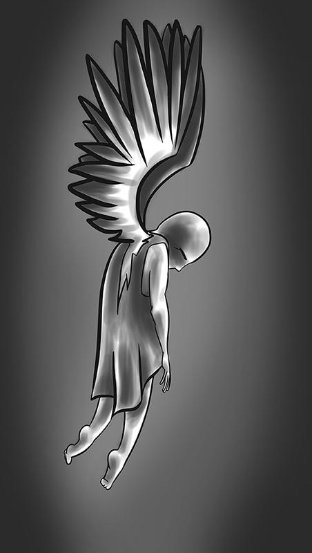 Fallen Angel by MiaSidewinder