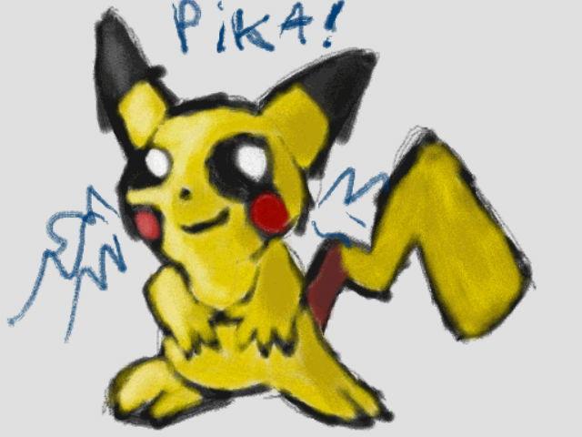 Random Pikachu by Quacksquared