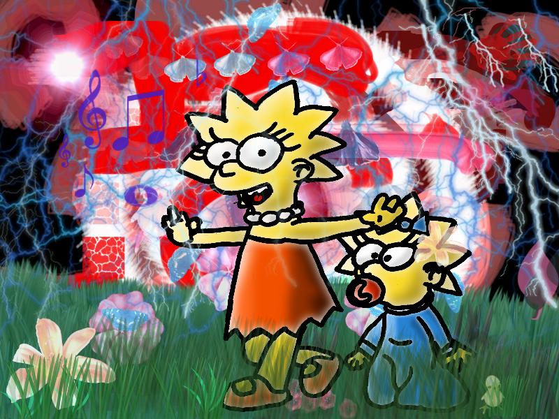 Lisa is walking. by Quacksquared