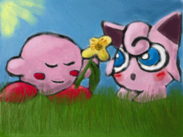 A flower for joo by Quacksquared