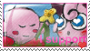 crap Kirby x Jigglypuff stamp by Quacksquared