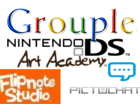 Nintendo DS art Grouple by Quacksquared