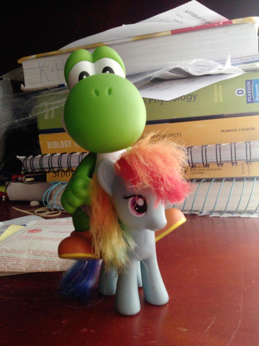 Yoshi's ride by Quacksquared