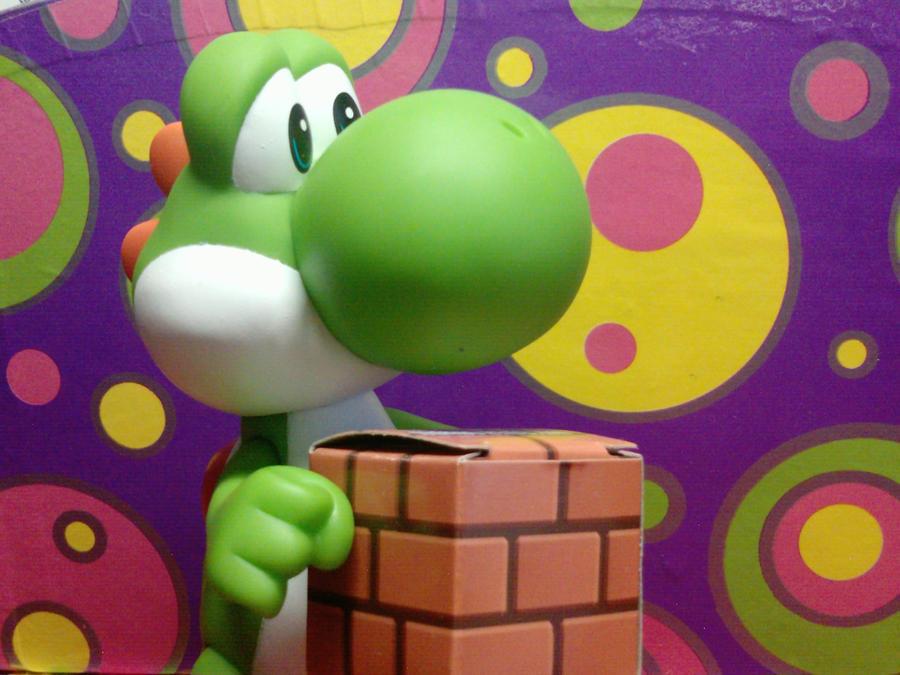 Yoshi's Brick Block by Quacksquared