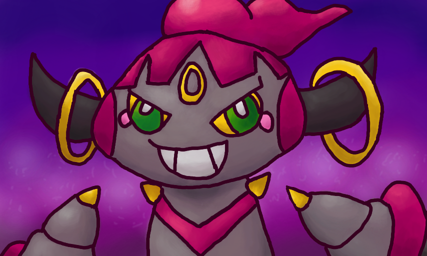 Hoopa by Quacksquared