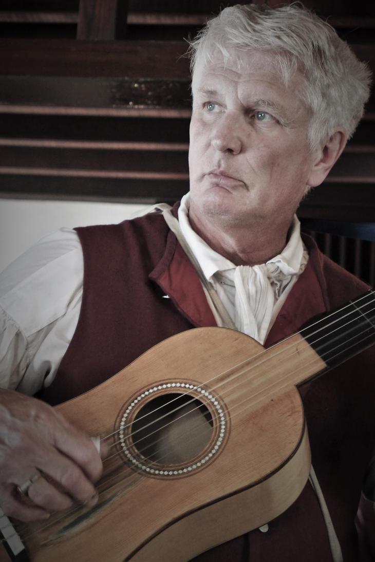 The Old Guitarist by echoofformless