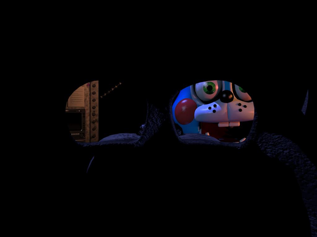 Bonnie FNaF Behind the Mask 2