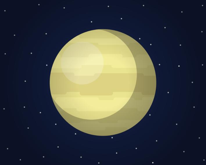 Space Scene: Venusian System