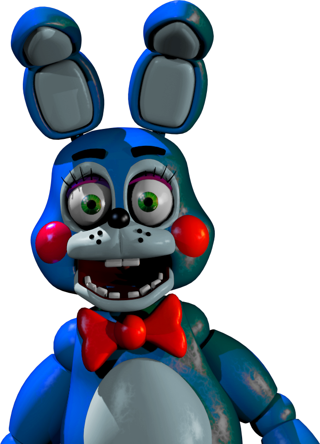 Toy Bonnie Without Fnaf 2 Lighting by Shaddow24