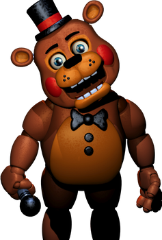 Toy Freddy With Fixed Lighting And Eyes