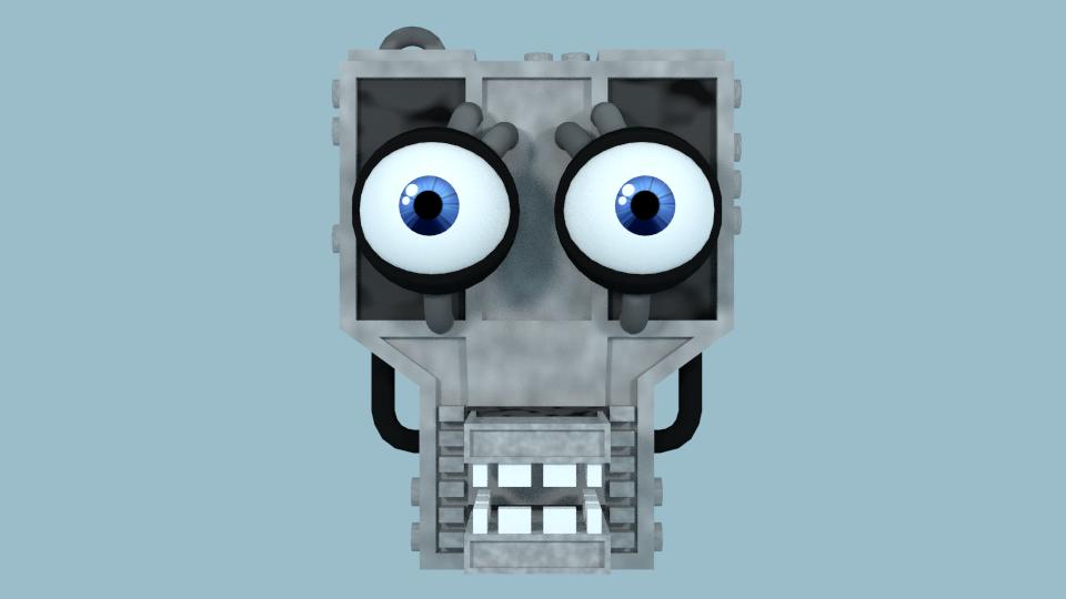 Fnaf 1 Endoskeleton Head Model