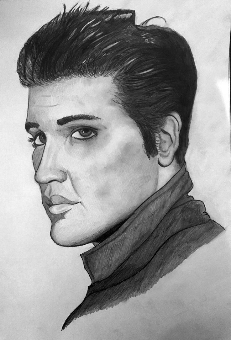 Elvis Presley by Miltage