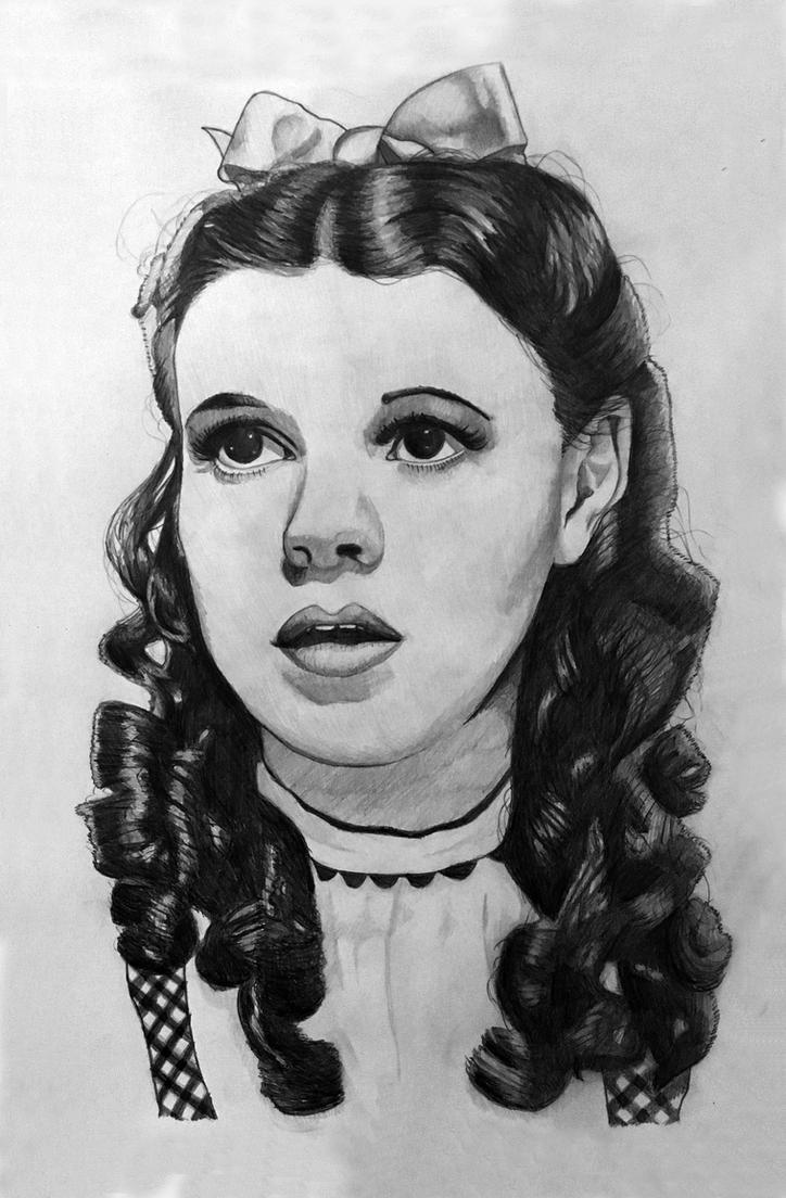 Judy Garland by Miltage