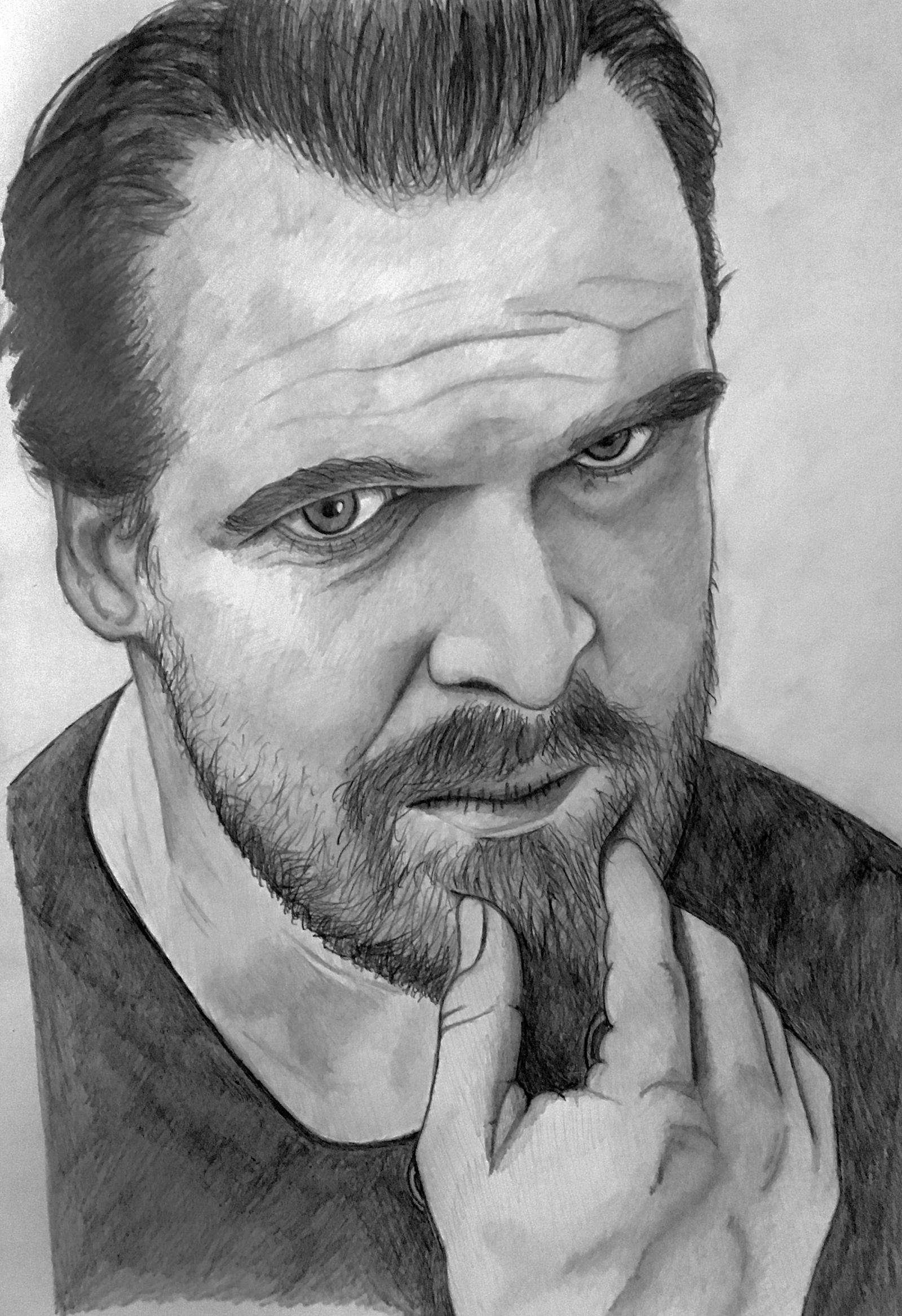 David Harbour by Miltage