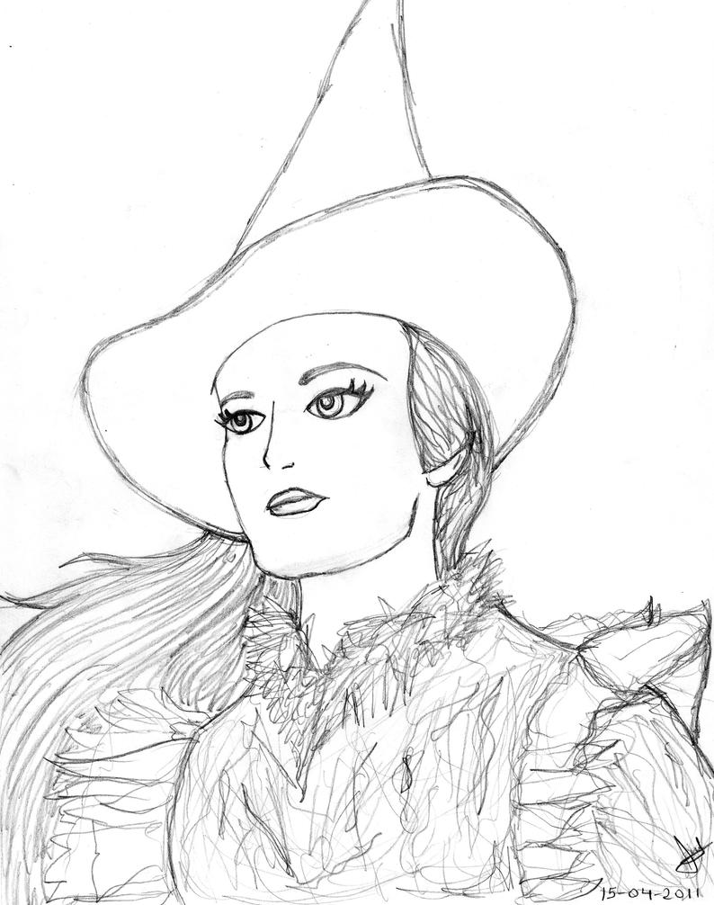 Wicked The Musical Coloring Pages Coloring Pages
