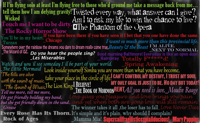 Broadway Quotes by jay3jay on DeviantArt