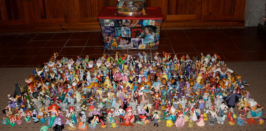 Disney Figurine Collection 2012 by jay3jay