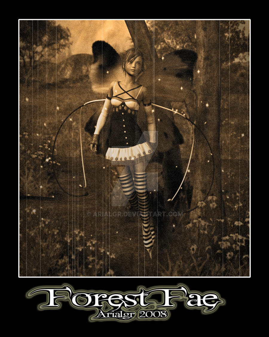 Forest Fae by Arialgr