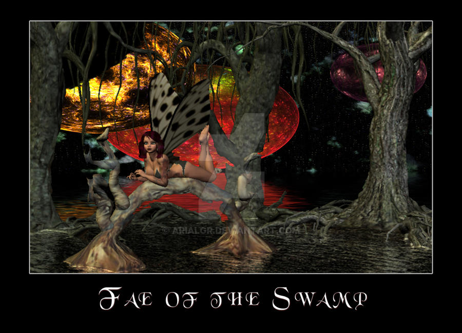 Fae of the Swamp by Arialgr