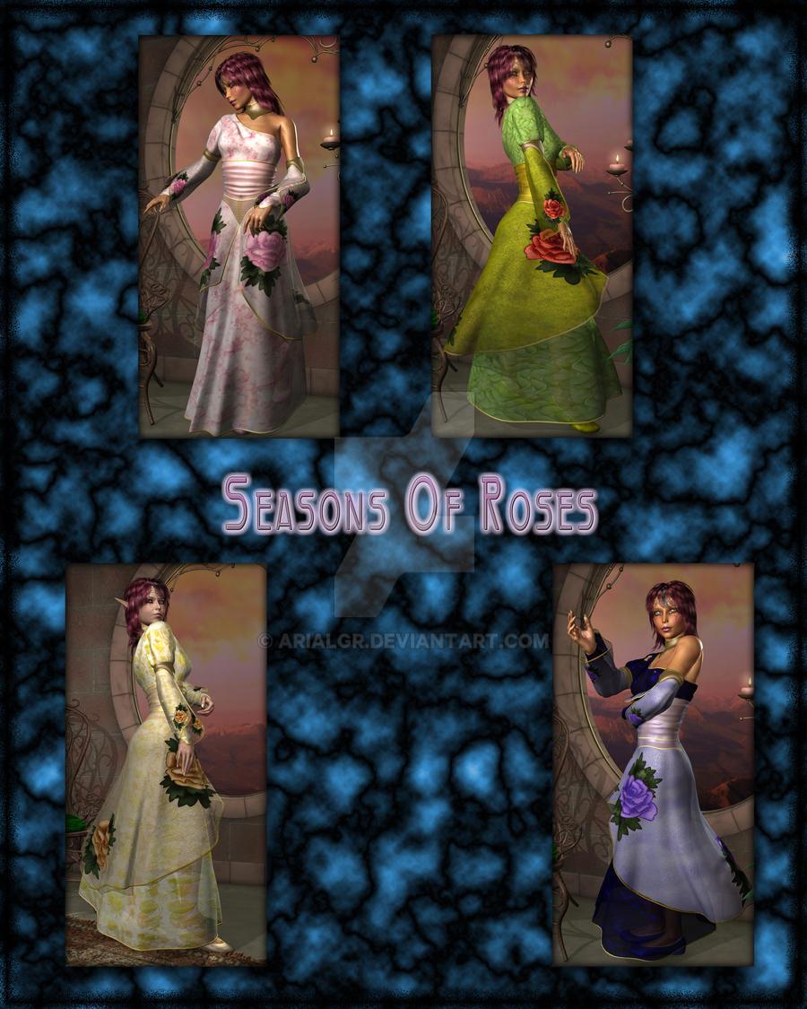 Seasons Of Roses by Arialgr