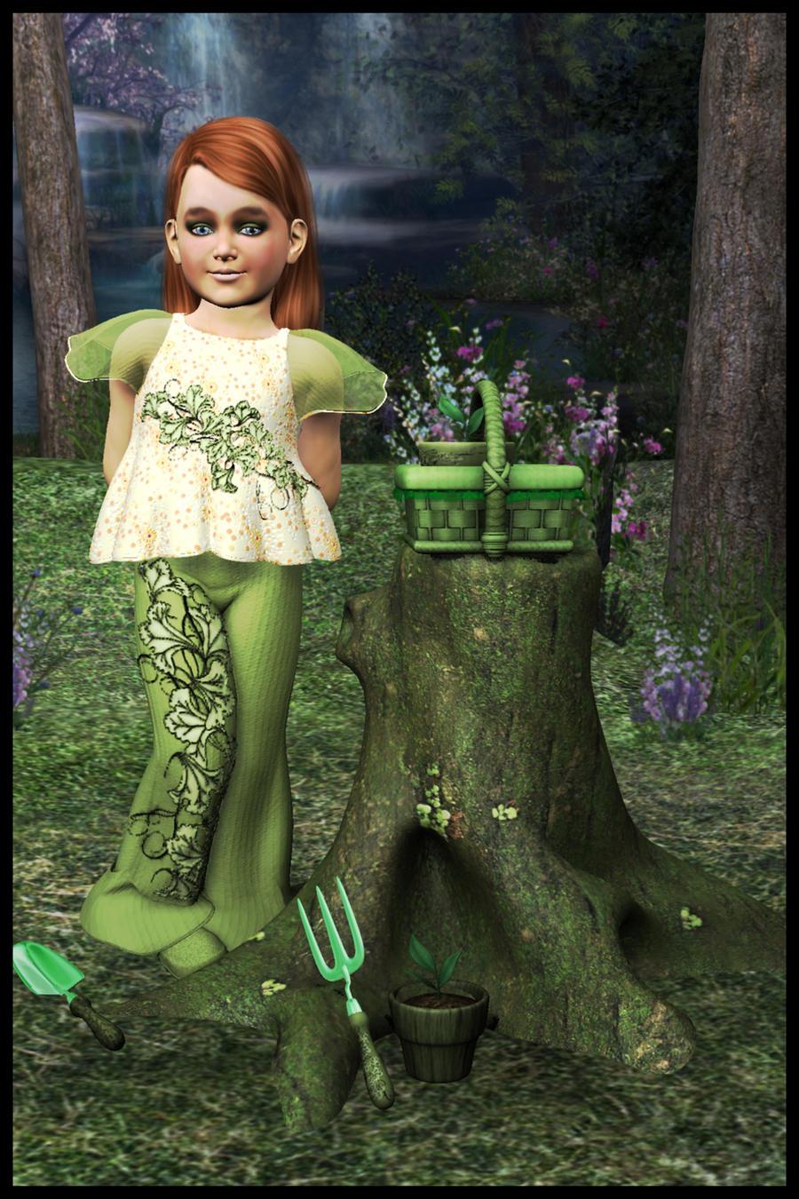 Forest Gardener by Arialgr