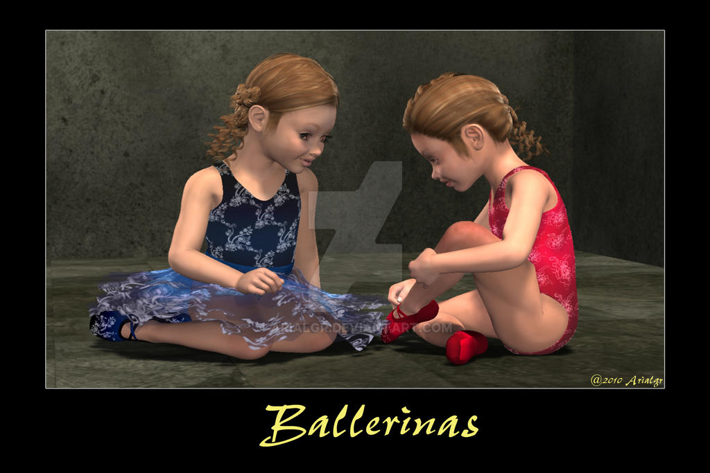 Ballerinas by Arialgr