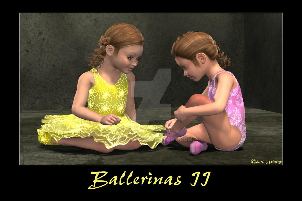 Ballerinas II by Arialgr