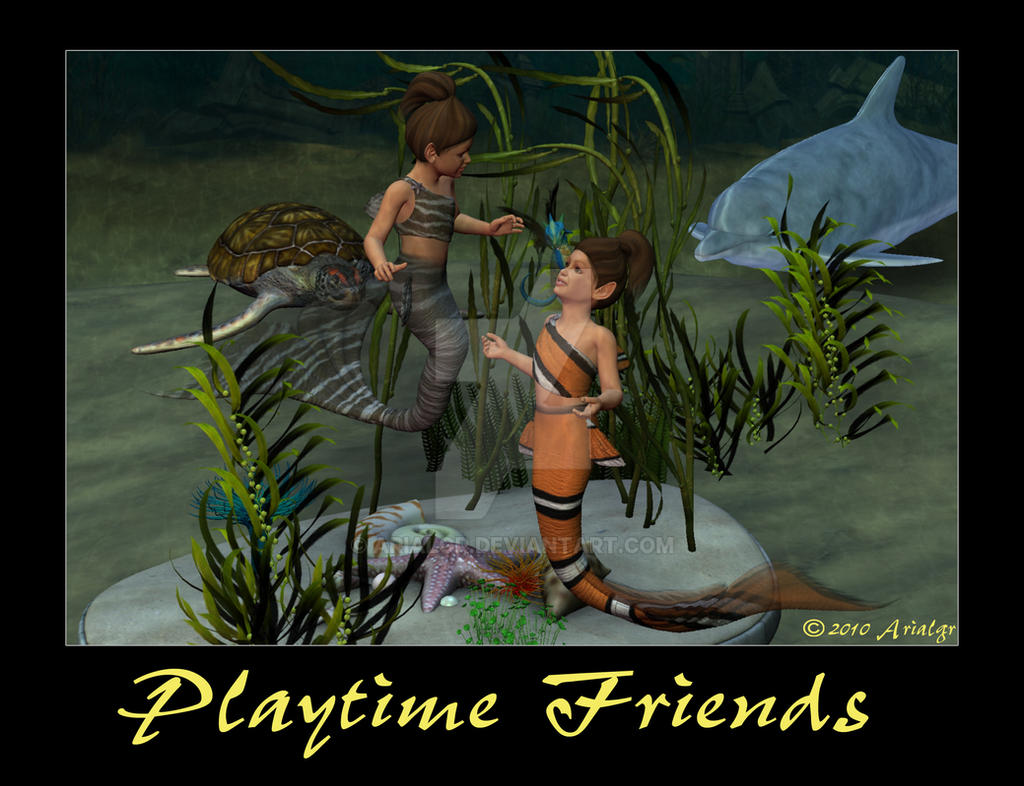 Playtime Friends by Arialgr