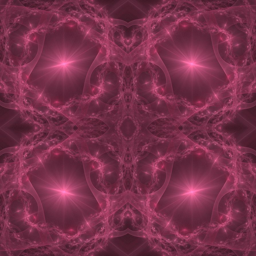 Fractal Tile - 001 by Arialgr