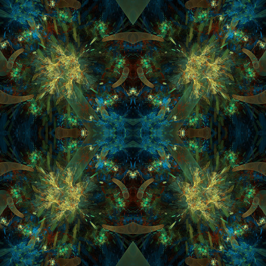 Fractal Tile - 02 by Arialgr