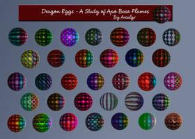 Dragon Eggs by Arialgr