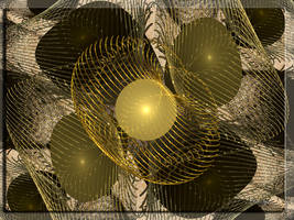 Golden Mesh by Arialgr