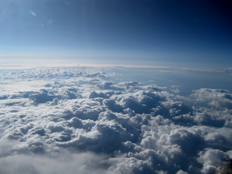 Up 38,000 feet II by JulianasGrandma