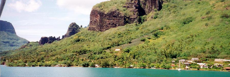 Moorea, French Polynesia II by JulianasGrandma