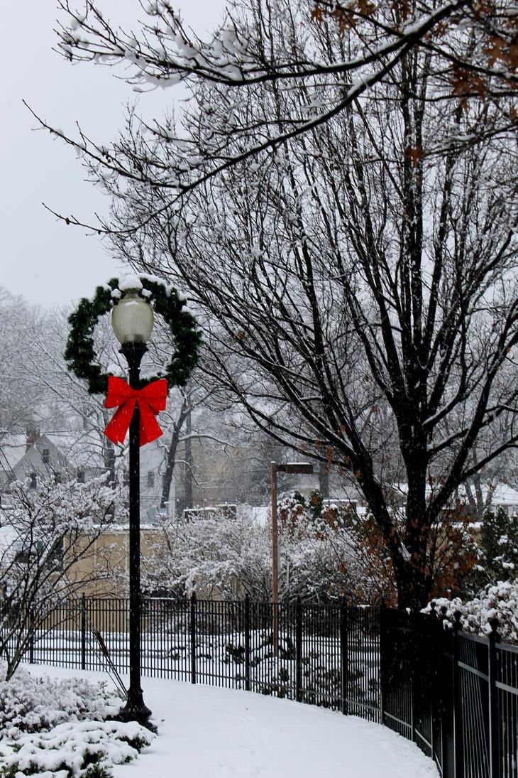 Christmas in my town. by JulianasGrandma