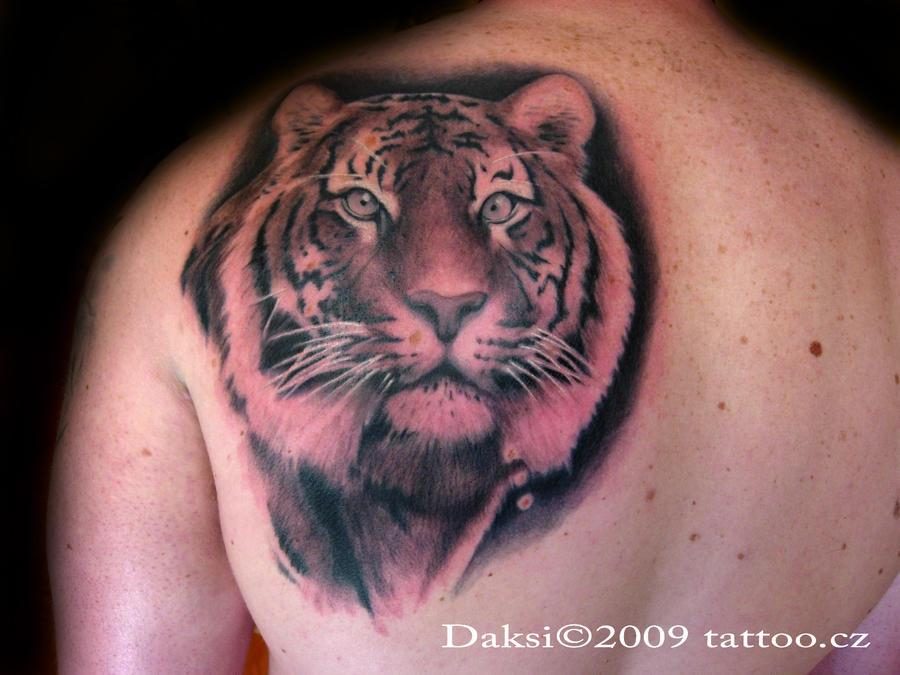 老虎纹身设计 - 大胆和鼓舞人心