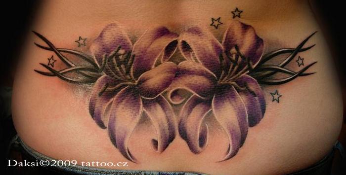 Flower tribal tattoo by daksi on deviantart for Tribal tattoo shops near me