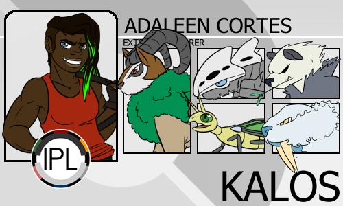 Adaleen Trainer Card by Maniett3