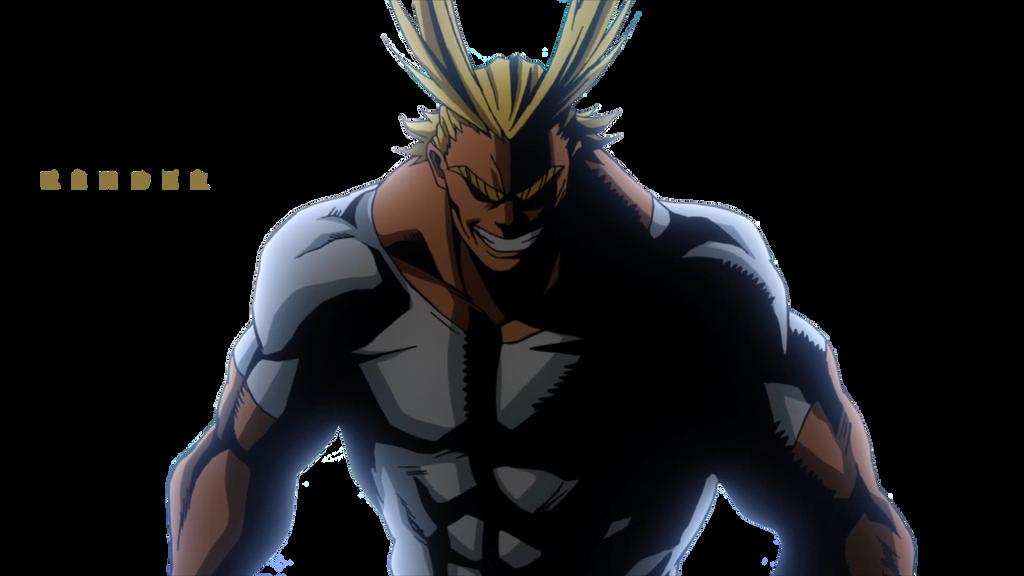 AllMight My Hero No Academia Render by X-Eroz-X on DeviantArt