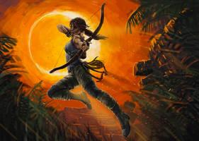 Eclipse - Tomb Raider Artwork by 2jacko5