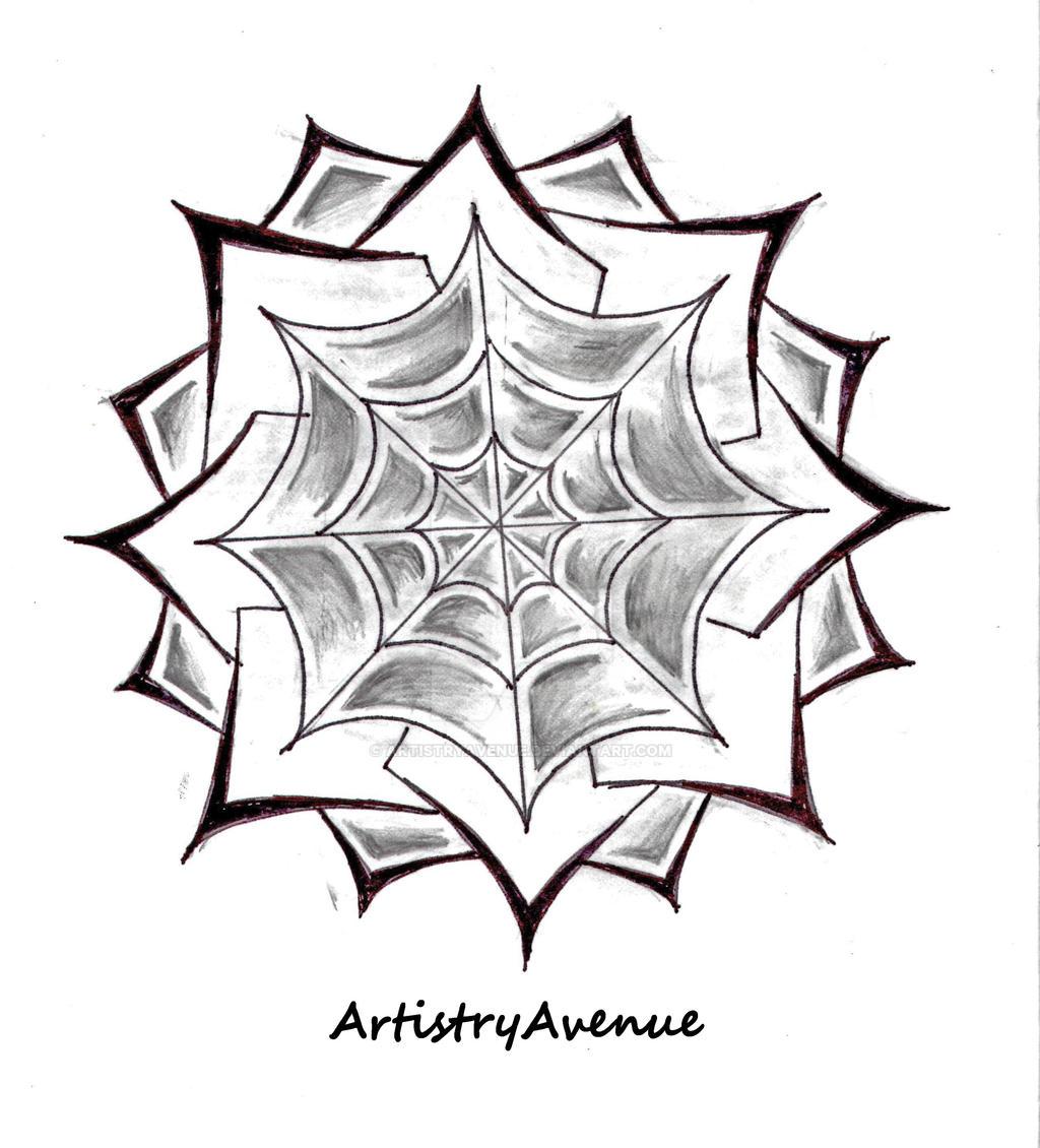 Spider Web Tattoo On Elbow Designs