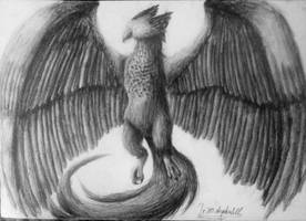 Bird creature by IrinaAsphodel