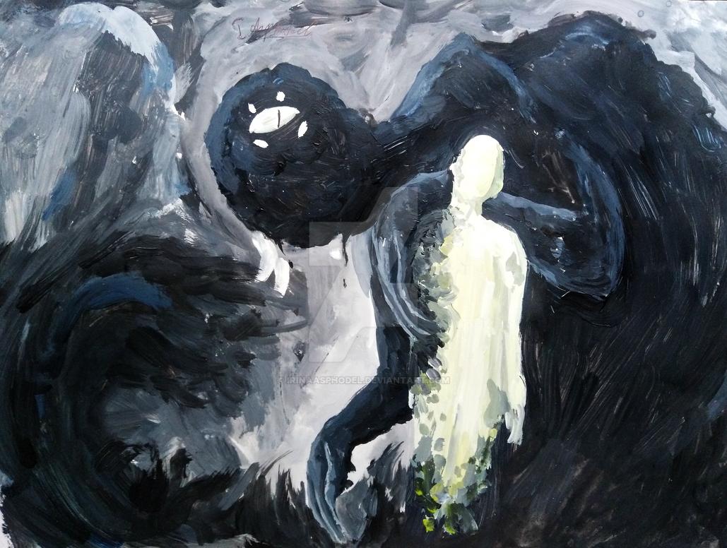 Internal Demon by IrinaAsphodel
